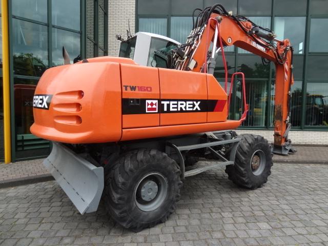 Запчасти для колесных экскаваторов Terex (Терекс)