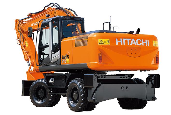 Запчасти для колесных экскаваторов Hitachi (Хитачи)