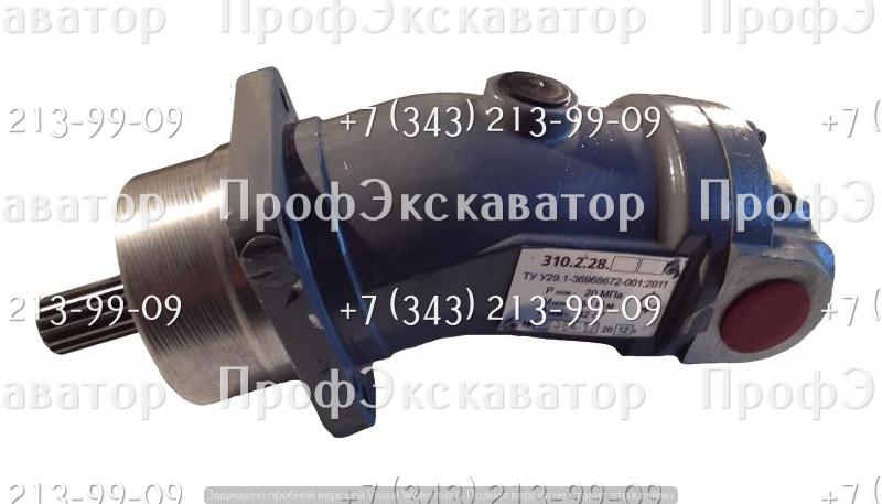 Гидронасос 310.2.28.04.05 шлицевой, левое вращение