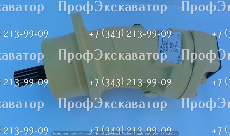 Гидронасос 310.56.04.06 шлицевой, левого вращения