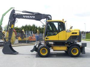 Запчасти для колесных экскаваторов Volvo (Вольво)